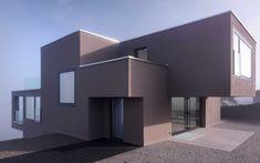 Schweizer Architektur: Auf einem Plateau über dem Greifensee liegend hat man mit diesem Einfamilienhaus einen wunderbaren Blick - m3 Architekten Zürich Zurich, Architecture, Room, Houses, Furniture, Home Decor, Architects, New Construction, Home Architecture