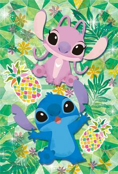 Stitch and Angel Wallpaper
