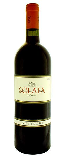Antinori Solaia   Tuscany, Italy ... we tasted this during our lunch, but, alas, at 210 euros per bottle, we did not purchase any