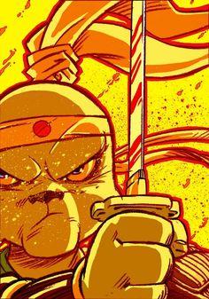 Usagi Yojimbo, by Kenny Ruido