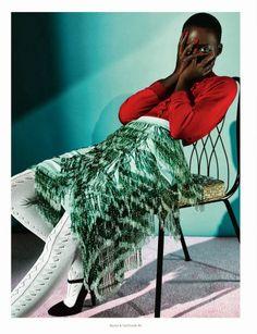 lupita nyong'o | dazed & confused magazine feb 2014  #fashion #editorial