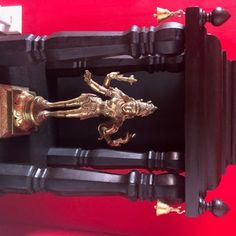 Small Hindu Temple : 8 Steps (with Pictures) - Instructables Hindu Mandir, Cut Crown Molding, Miter Saw, Hindu Temple, Wood Glue, Table Legs, Door Handles, Pictures, Door Knobs