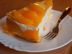 Barackos túrótorta recept - Tortareceptek.hu Thing 1, Types Of Food, Bon Appetit, Cheesecake, Dinner Recipes, Food And Drink, Pudding, Philadelphia, Blog