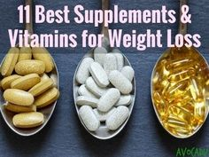 11 Best Vitamins and Supplements for Weight Loss If you've been eating low-cal and low-fat, and working out regularly, but still haven't seen the scale budge, your body is telling you that it's missing something. This can be especially helpful if you have Weight Loss Meals, Losing Weight Tips, Easy Weight Loss, Weight Loss Program, Lose Weight Naturally, How To Lose Weight Fast, Lose Fat, Easy Diet Plan, Appetite Control