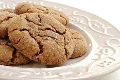 A very good cookie recipe with a perfect soft texture. Soft Ginger Cookies Reci… A very good cookie recipe with a perfect soft texture. Soft Ginger Cookies Recipe from Grandmothers Kitchen. Soft Ginger Cookie Recipe, Soft Ginger Cookies, Ginger Molasses Cookies, Favorite Cookie Recipe, Best Cookie Recipes, Baking Recipes, Sweet Recipes, Ginger Snaps Recipe, Goodies