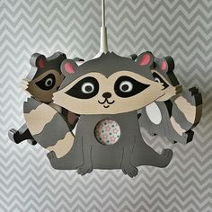 In harmony with the wall lamps, it is a real miracle for a child when its favourite character brightens up the room. Our chandeliers are perfect for playtime and evening activities. #chandelier #raccoon #vamadesign #newborn #nurserydecor #homedecor #childroom #baby #newborn #handmade #ash #kidsdesign