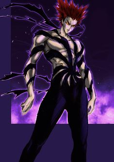 One Punch Man 2, Saitama One Punch Man, One Punch Man Anime, Man Wallpaper, Fantasy Characters, Fictional Characters, Fantasy Character Design, Dark Fantasy Art, Street Fighter