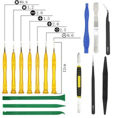 Repair Multi Opening Tools Kit Precision Screwdriver Set for Cell Mobile Phone smartphone