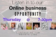 http://ift.tt/1trtD00 Thursday 7.30pm GMT comment for registration details