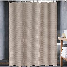 Avalon 54 Inch X 78 Shower Curtain In Canvas