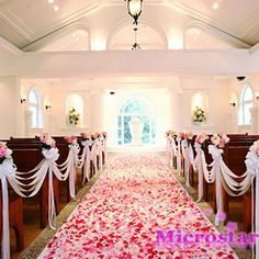 500pcs Table Confetti Decoration Silk Rose Petals  Flower Engagement Wedding Celebrations Christmas Party
