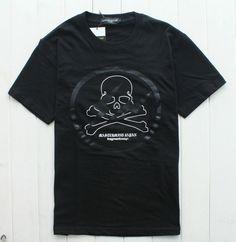 Mastermind Japan MMJ x Fragment Lightning Graphic Cutton Tee Shirt 3 Sz Black   eBay