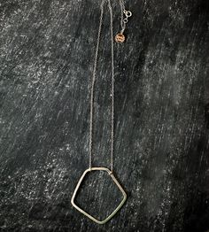 Silver Pentagon Necklace | Jewelry Necklaces | Jennie Claire | Scoutmob Shoppe | Product Detail