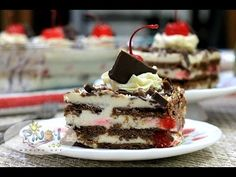 Black Forest Icebox Cake Recipe - Filipino Recipes Portal