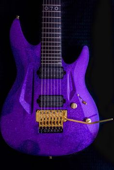 Purple 7 Prince Guitar