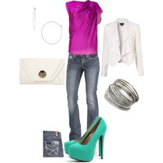 girls night out, created by goodbuggie2.polyvore.com
