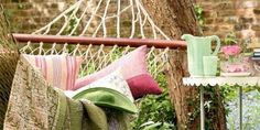 15 Inspirational Examples Of Summer Hammocks On A Porch | Shelterness :: http://www.shelterness.com/15-inspirational-examples-of-summer-hammocks-on-a-porch/