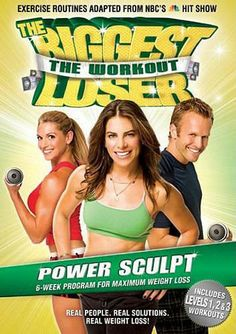 The Biggest Loser - The Workout - Power Sculpt,Vol.4 (LG) (Jillian Michaels) DVD Movie .  Click here for more fitness workout videos http://www.inetvideo.com/collections/inetvideo-jillian-michaels-videos-on-dvd