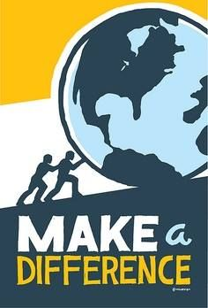make a difference ...