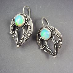New Opal Earrings by Dana Evans.