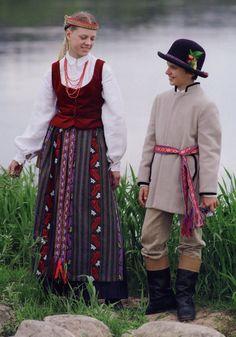 Costumes of Zanavykija Region, Lithuania