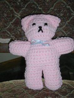 Becky's Crochet Teddy pattern by Rita Ross (bevscountrycottage.com)