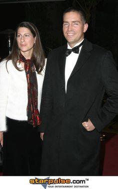 Jim Caviezel & wife