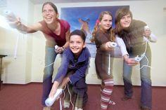 Spaß für Groß und Klein in der Wii-Lounge