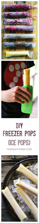 DIY Freezer Pops {Ice Pops}