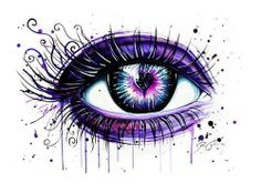 Amazing eye drawing