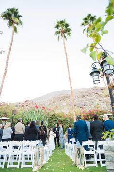 Palm Springs Wedding At Spencer S