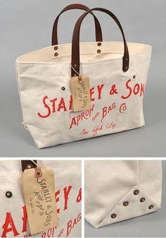 Stanley & Songs Logo Tote Bag