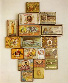 """from """"Decorative Printed Tins, the golden age of printed tin packaging"""" by David Griffith"""