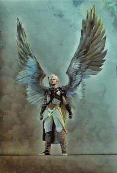 is this pewds final form? Angel Warrior, Fantasy Warrior, Fantasy Rpg, Dark Fantasy, Fantasy Art Angels, Character Creation, Character Concept, Character Design, Character Portraits