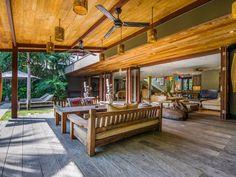 Villa Yoga | 7 bedrooms with 5, 6, 7 rental option | Seminyak, Bali #garden #modern #villa #interior #openair #living #bali #holiday #family #friends #retreat