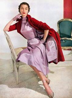 Jean Patchett, Vogue 1949. Photo: Horst P. Horst.