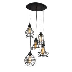 Found it at Wayfair - 5 Light Kitchen Island Pendant