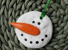 homemade kids crafts christmas ornaments with cornstarch -
