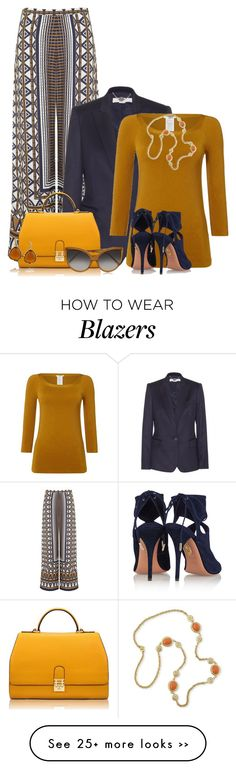 """""""Colors of Fall"""" by debpat on Polyvore featuring Topshop, STELLA McCARTNEY, Florian London, Wolford, Linda Farrow, Aquazzura and Kenneth Jay Lane"""