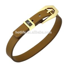 a225807be92 Wholesale Price Fashion Design Stainless Steel Adjustable Size Mens leather  bracelet