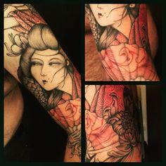 Woman in Red #derprinztattoo #derprinz #tagsforlife #picoftheday #tattoo #tattooing #tattooer #derprinztattooer #tattooedgirl #tattooedman #tattoomilano #tatuaggi #tatuaggio #traditional #tattooblack #tattoocolor