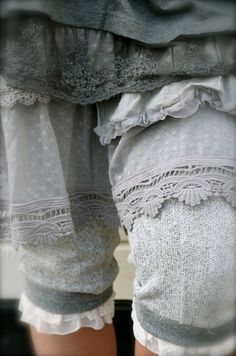 Layers in shades of grey.