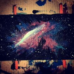 #Galaxy #paint #painting #shadows #paintwithhands #hands #soul #universe #colours #stars #myart #art #random #photo #Photography