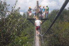 Take a canopy zipline tour through the highest, longest, double decker tour in Florida. Visit Zip Orlando.