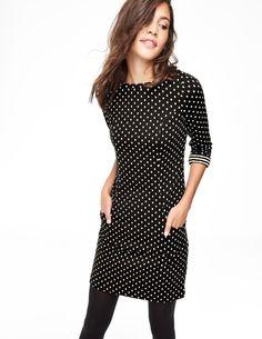 Dotty Shift Tunic Dress