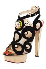 Matryoshka high heels