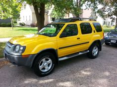 Make:  Nissan Model:  Xterra Year:  2004 Exterior Color: Yellow Interior Color: Gray Doors: Four Door Price: $7,495 Contact:  608-317-7207   For More Info Visit: http://UnitedCarExchange.com/a1/2004-Nissan-Xterra-145915817475
