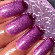 franken polish. I'm not normally a purple fan but this is pretty.