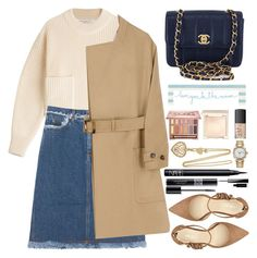 """""""Untitled #1983"""" by anarita11 ❤ liked on Polyvore featuring Philosophy di Lorenzo Serafini, Acne Studios, Burberry, Nine West, Chanel, Christian Lacroix, Natural Life, Urban Decay, Jouer and NARS Cosmetics"""