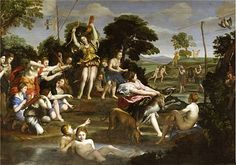 La caccia di Diana by Domenichino. What draws me to his work is that he has interesting environments. I enjoy how his background fades away as it goes farther away. The image also has a lot of action going on as well, something I want to produce in my work.